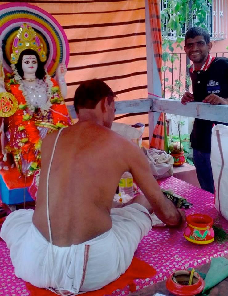 shuktara - Sunil - Vishwakarma Puja 2015