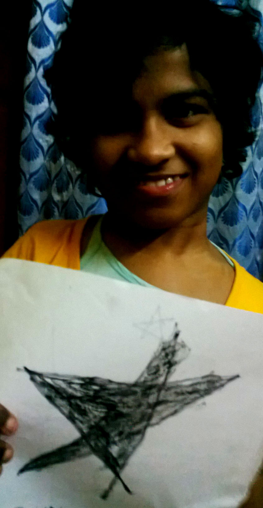 shuktara - Prity Blackstar art project