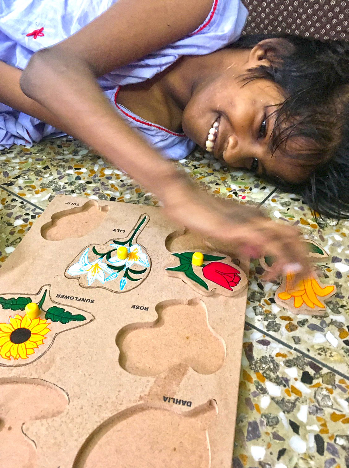 shuktara home for disabled girls - Lula Bari