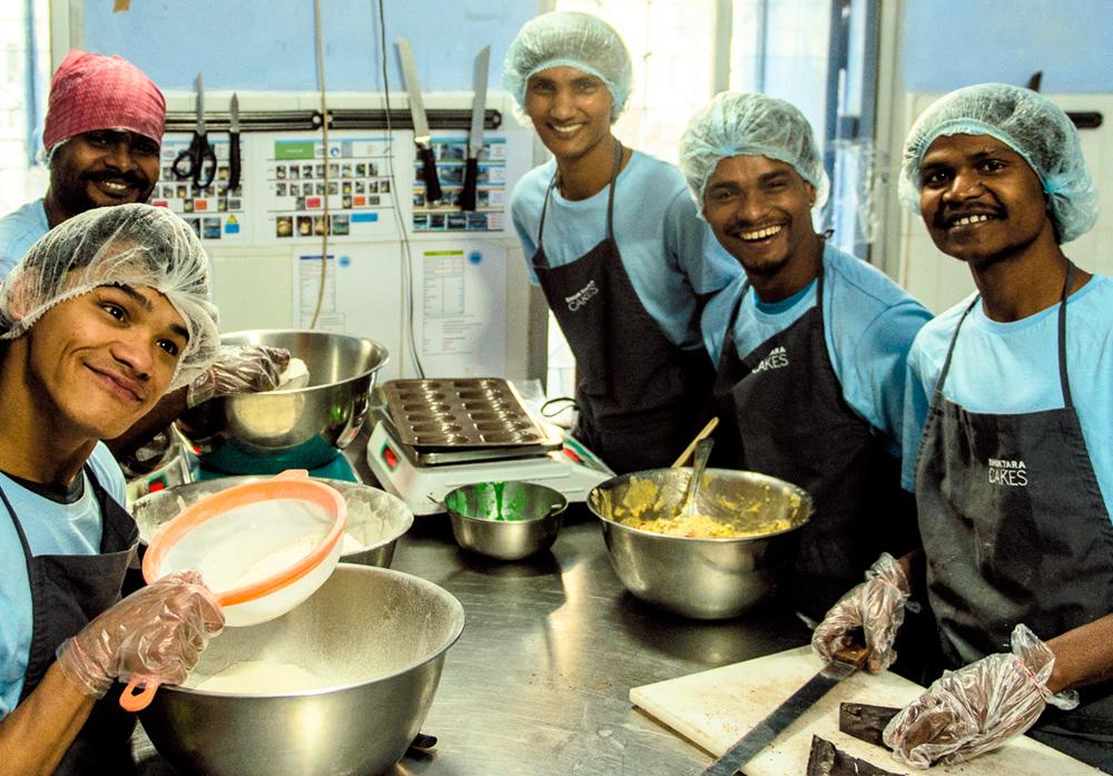 Shuktara Cakes Team - Ashok, Sanjay, Pinku, Raju and Bapi