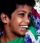 shuktara home for disabled girls - Guria smiling
